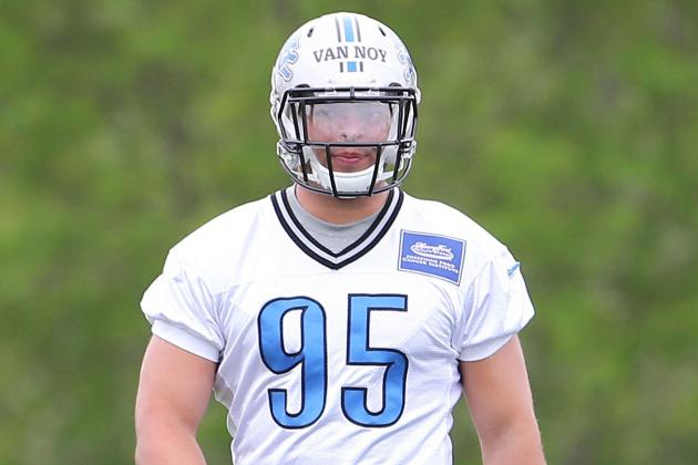 TWENTYMAN: Lions Sign Second-Round Pick Kyle Van Noy