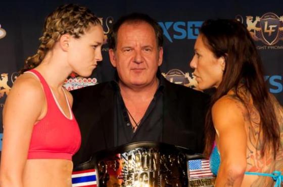 Lutador russo critica MMA feminino