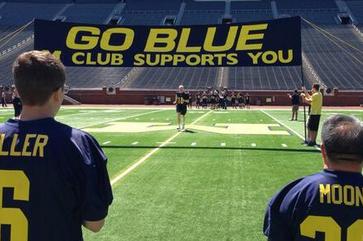 Photos: Michigan Fans Go Through Football Experience