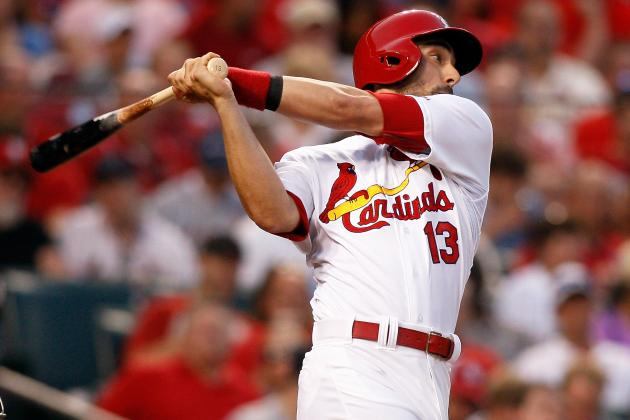 Matt Carpenter Becomes 1st Cardinal Since 2009 with 5 Hits in a Game