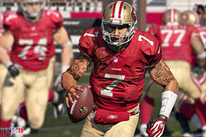 Colin Kaepernick Is First Player to Have Tattoos Featured in 'Madden 15'