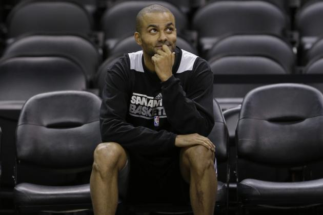 2014 NBA Finals Preview: 5 Questions Surrounding Tony Parker's Gimpy Ankle