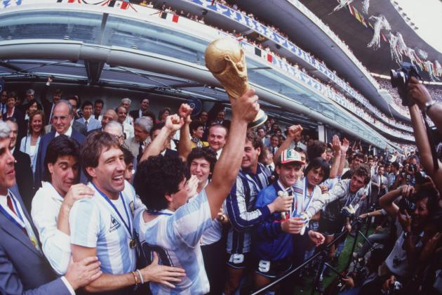 The Argentina 1986 Side Would Finish 6th at 2014 World Cup
