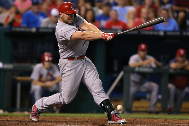 Cardinals' Matt Holliday Closing in on 1,000 Career RBI