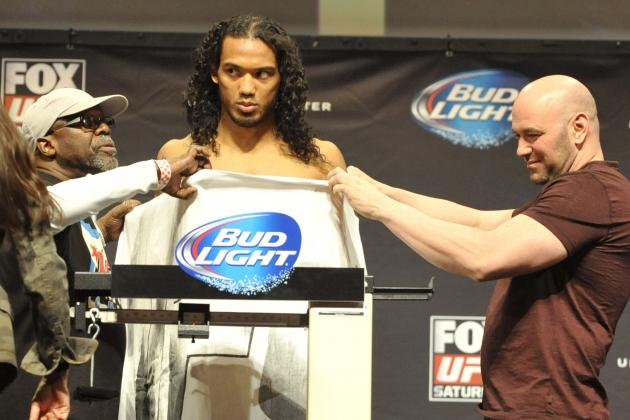 UFC Fight Night 42: Weigh-in Results and Updates