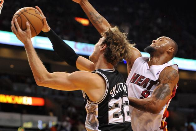Heat's Lewis, Spurs' Splitter Starting Game 1