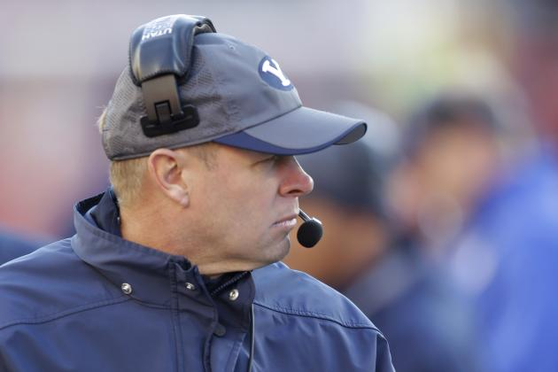 BYU's Mendenhall: 'We Would Love to Be in the Big 12'