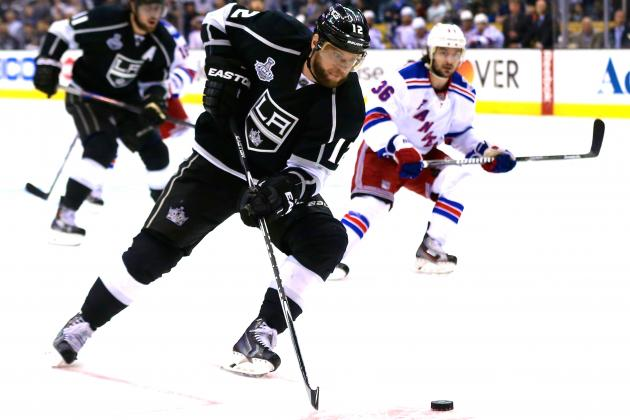 Marian Gaborik a Big Reason Why Rangers, Kings Are Fighting for the Stanley Cup