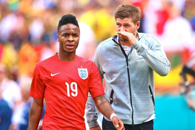 Raheem Sterling Can Use Liverpool Inspiration for World Cup After Red Card Woe
