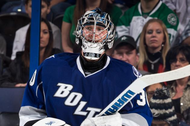 Lightning Goalie Bishop Believes He'll Be 'ready to Go' for Training Camp