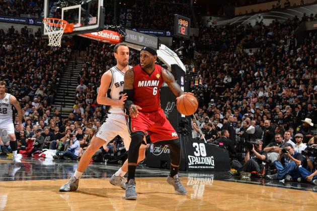 Miami Heat vs. San Antonio Spurs: Game 1 Grades and Analysis