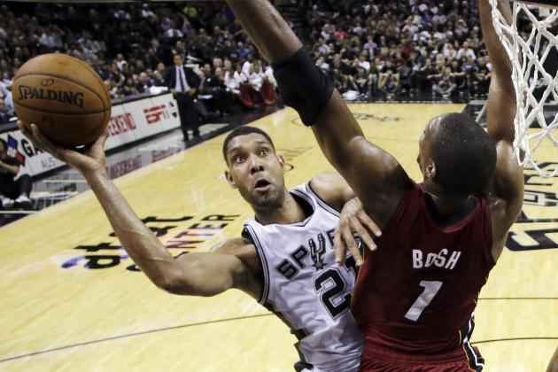 Heat vs. Spurs: TV Schedule and Predictions for Game 2 of 2014 NBA Finals