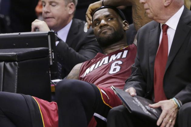 Gatorade Trolls LeBron for Game 1 Cramping