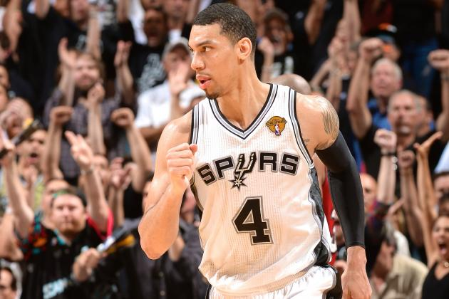 Danny Green Seizing NBA's Biggest Stage for Second Straight Year
