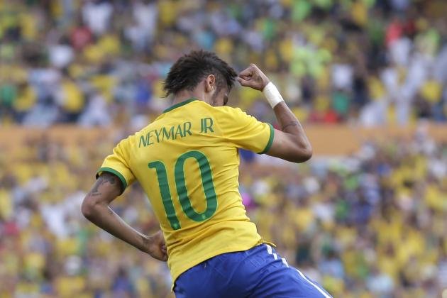 Win Neymar's Signed Brazil Shirt in Our Fan Friday World Cup Giveaway!