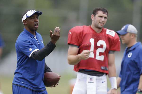 How the Indianapolis Colts Offense Could Evolve in Pep Hamilton's Second Season