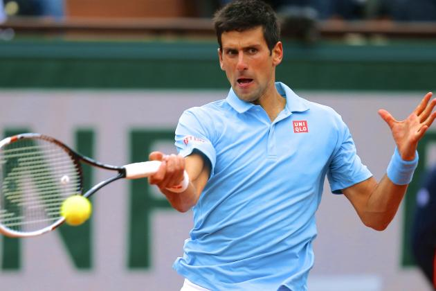 Djokovic vs. Gulbis: Score and Highlights from French Open 2014 Men's Semifinals