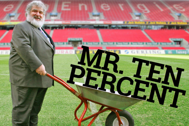The Rise and Fall of Chuck Blazer, the Man Who Built and Bilked