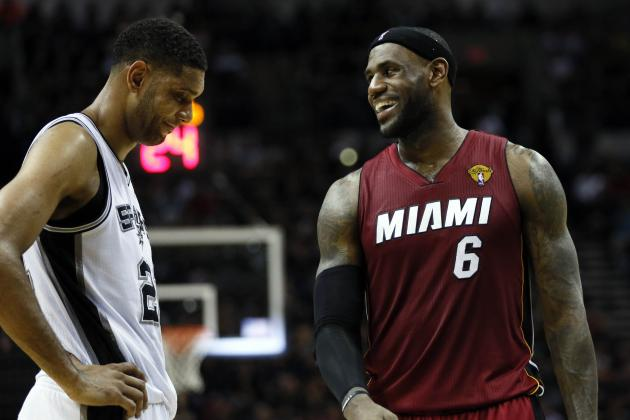 NBA Finals 2014: Latest NBA Series Odds and TV Info for Heat vs. Spurs