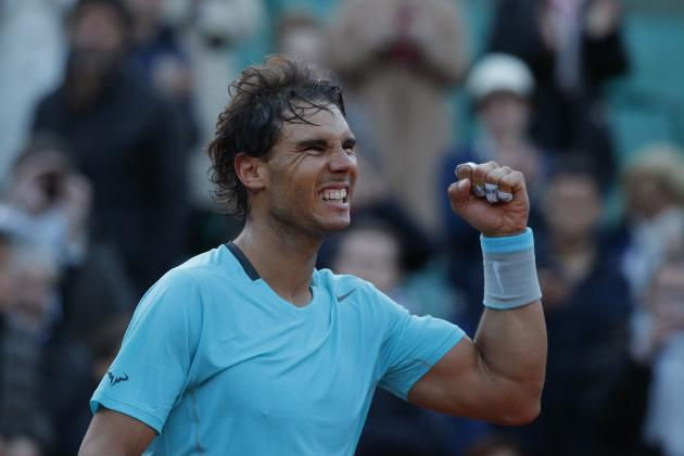 Nadal vs. Murray: Recap and Results from French Open 2014 Men's Semifinal