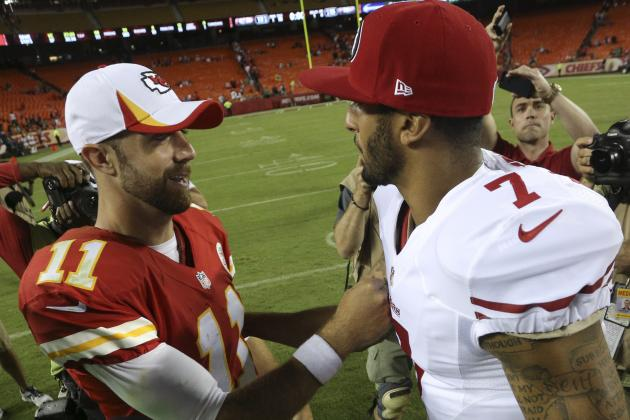 How Alex Smith's Next Contract Could Be Affected by Colin Kaepernick