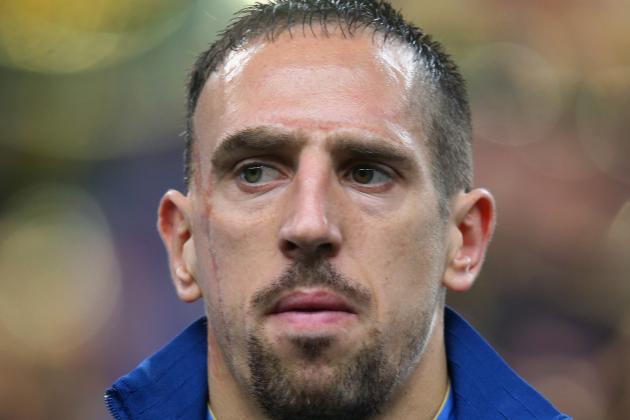 Ribery Distraught as Injury Forces Him to Pull out of French World Cup Squad