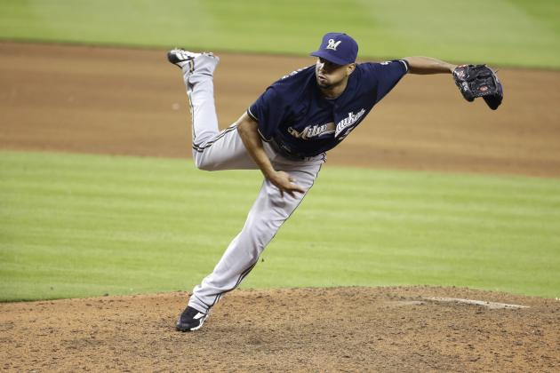 Brewers' Francisco Rodriguez Moves into Top 15 on MLB's All-Time Saves List