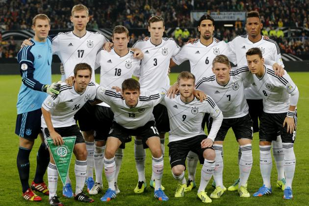 Germany World Cup Betting Preview: Third Overall Odds, Tops in Group G