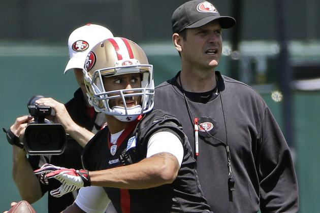49ers' Harbaugh Excited About Kaepernick Contract