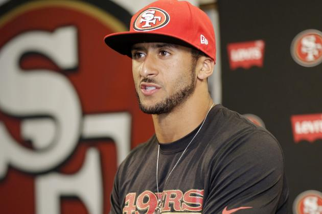 How Colin Kaepernick's $126 Million Deal Stacks Up to Joe Flacco's