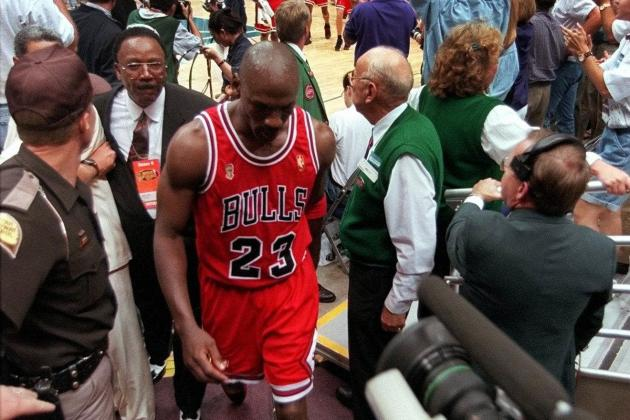 Remember the Time Michael Jordan Left an NBA Finals Game Due to Cramps?