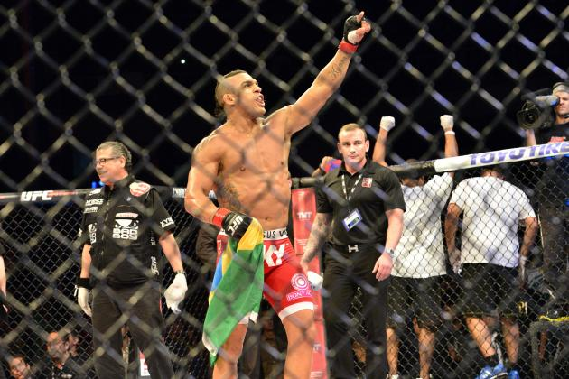 Photo: Vitor Belfort's Failed Drug Test Results Released