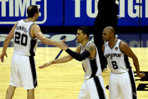 The San Antonio Spurs' Bench Smokes out the Miami Heat in Game 1