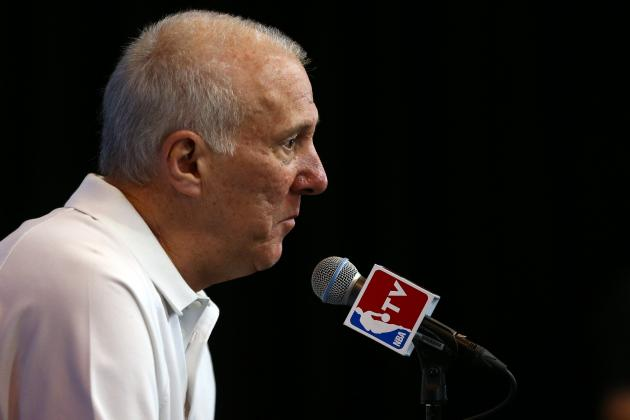 Gregg Popovich Claims Responsibility for Broken AC in Game 1 of NBA Finals