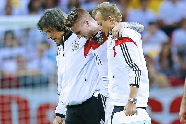 Marco Reus Injury: Updates on Germany Star's Ankle and Return