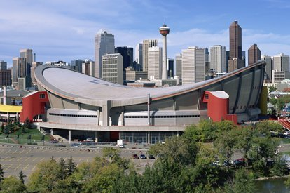 Burke Calls the Saddledome 'Embarrassing'