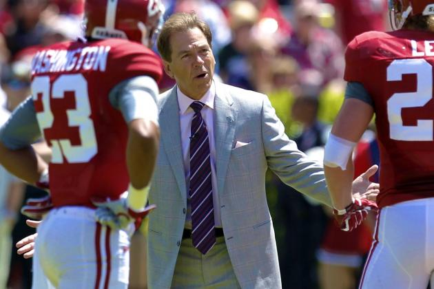 Alabama Football: Nick Saban's Contract the Leading Gauge to Price of Success