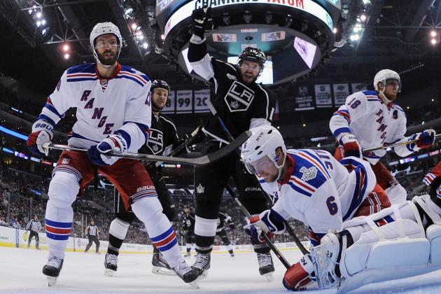 New York Rangers vs. Los Angeles Kings: Preview and Prediction for Game 2