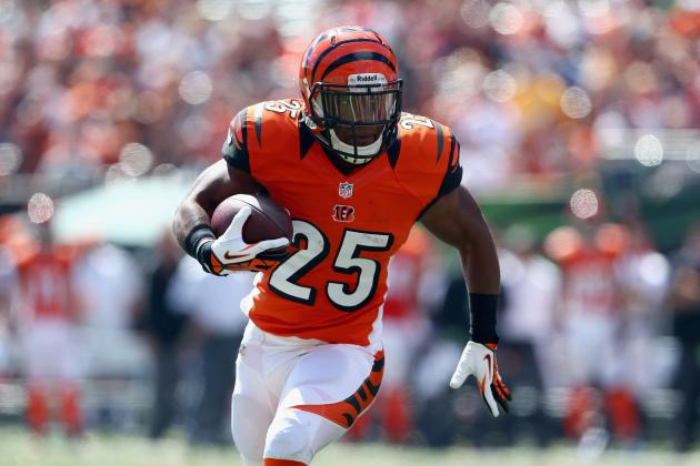 B/R Interview: Bengals RB Giovani Bernard