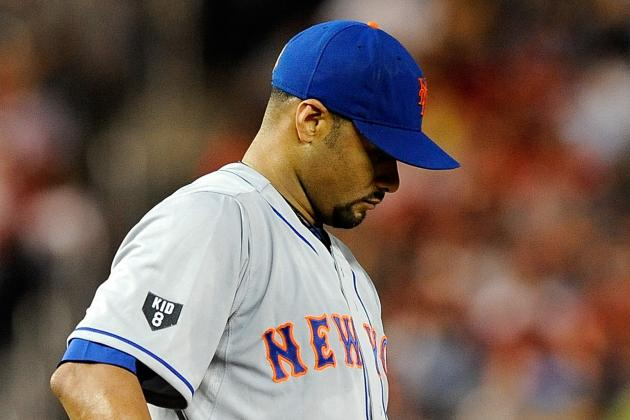 Johan Santana out for the Rest of the Season with a Torn Achilles