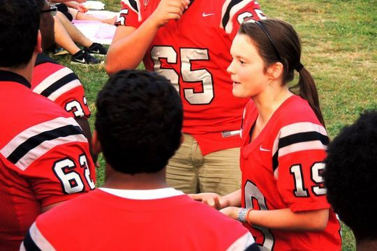 High School Girl Commits to Become First Female College Defensive Back