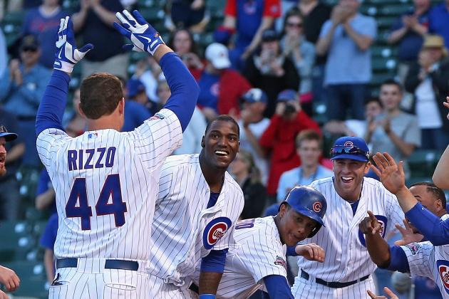 Cubs Top Marlins in 13th to Win 4th Straight