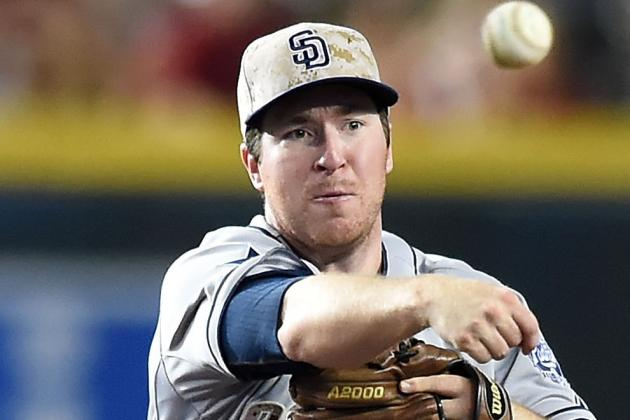 Struggling Padres 2B Gyorko (foot) Lands on DL