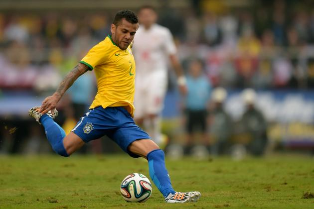 Film Focus: Brazil's Full-Backs Exposed by Serbian Width