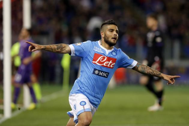 Arsenal Transfer News: Why Lorenzo Insigne Won't Leave Napoli This Summer