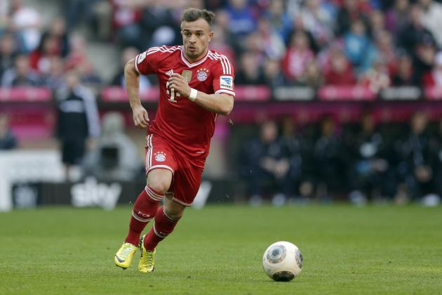 Liverpool Transfer News: Xherdan Shaqiri Better Fit for Reds Than Adam Lallana
