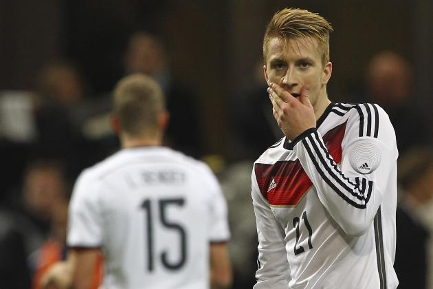 Marco Reus Will Miss World Cup Due to Injury