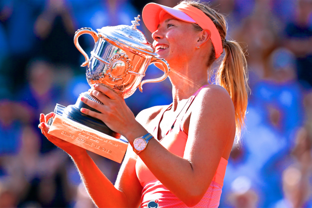 Sharapova vs. Halep: Recap and Results from French Open 2014 Women's Final