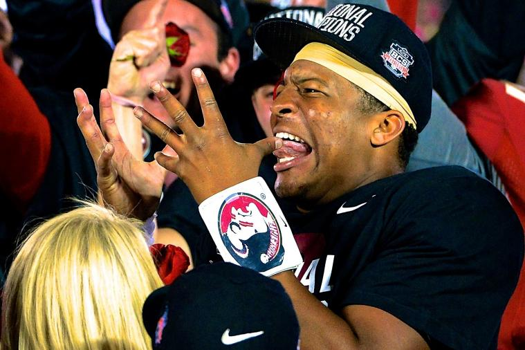 Jameis Winston Shows off 'Boom Boom Room' Filled with Athletic Achievements