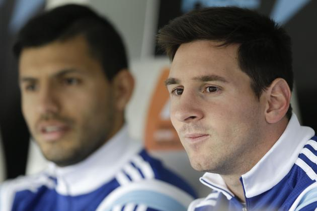 Lionel Messi Joined by an Unexpected Companion on Argentina Bench